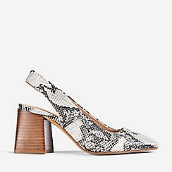 Dorothy Perkins - Multi Coloured Snake Print Esmeralda Court Shoes