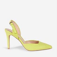 Dorothy Perkins - Lime Destiny Court Shoes