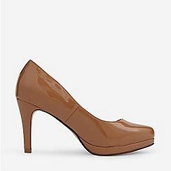 Dorothy Perkins - Camel Dani Court Shoes