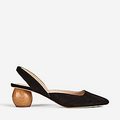 Dorothy Perkins - Black Elfie Court Shoes