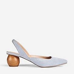 Dorothy Perkins - Blue Elfie Court Shoes