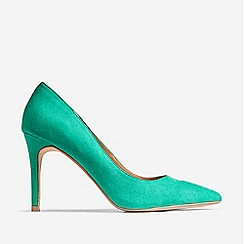 Dorothy Perkins - Green Danielle Court Shoes