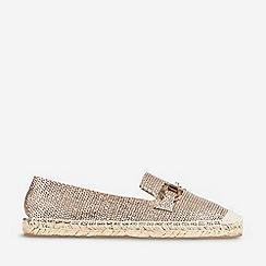 Dorothy Perkins - Gold Capri Espadrilles Shoes