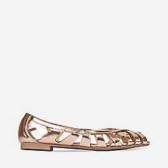 Dorothy Perkins - Rose Gold Perla Pumps