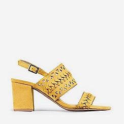 Dorothy Perkins - Yellow Shugar Heeled Sandals