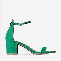 Dorothy Perkins - Green Sinner Heeled Sandals
