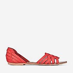 Dorothy Perkins - Red Jinx Woven Sandals