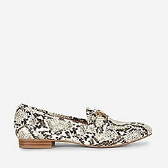 Dorothy Perkins - Multi Colour Snake Print Lilo Loafers