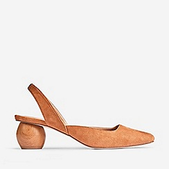 Dorothy Perkins - Tan Elfie Court Shoes