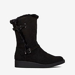 Dorothy Perkins - Black tame wedge boots