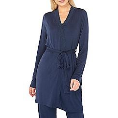 Dorothy Perkins - Navy plain summer dressing gown