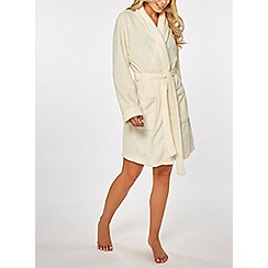 7459fa3e8e97 Dorothy Perkins - Cream wellsoft robe