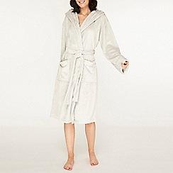 Dorothy Perkins - Grey plain wellsoft robe