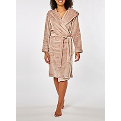 Dorothy Perkins - Mink plain supersoft robe