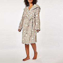 Dorothy Perkins - Mink star supersoft robe