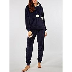 8068544cc5bb Dorothy Perkins - Navy lambi pom pom pyjama set