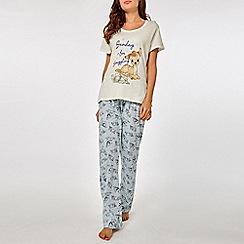 Dorothy Perkins - Blue bambi and thumper pyjama set