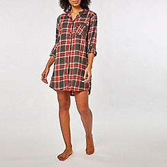 Dorothy Perkins - Red check night shirt