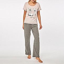 Dorothy Perkins - Pink koala bears pyjamas set