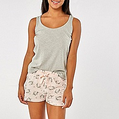 Dorothy Perkins - Pink unicorn short pyjamas in a bag