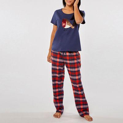 3baba0fafe Dorothy Perkins - Blue robin sequin pyjama set