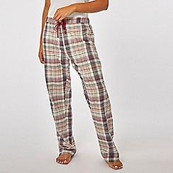 Dorothy Perkins - Oatmeal merry xmoose pyjama set