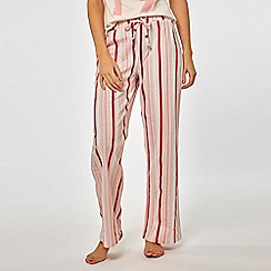 Dorothy Perkins - Pink striped bottoms