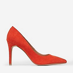 Dorothy Perkins - Wide Fit Orange Polyurethane Enigma Court Shoes