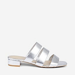 Dorothy Perkins - Wide Fit Silver Stormy Sandals