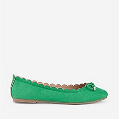 Dorothy Perkins - Green Pia Pumps