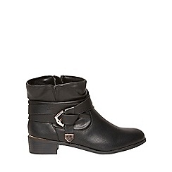 Dorothy Perkins - Widefit black 'mylie' boots