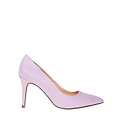 Dorothy Perkins - Wide fit lilac microfibre electra court shoes