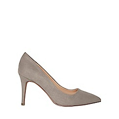 Dorothy Perkins - Wide fit grey electra court shoes
