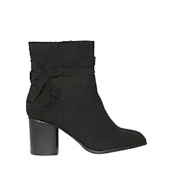 Dorothy Perkins - Wide fit black milla boots