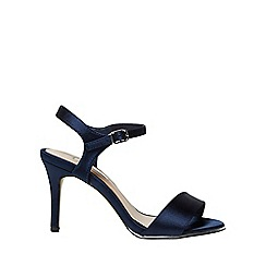 Dorothy Perkins - Showcase wide fit navy selina sandals