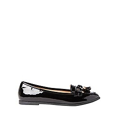 Dorothy Perkins - Wide fit black larissa loafers