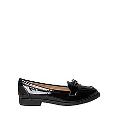Dorothy Perkins - Wide fit black lizzy loafers