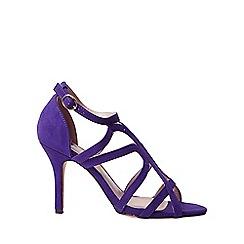 Dorothy Perkins - Wide fit purple baxter sandals