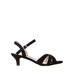 Dorothy Perkins - Wide fit black swing sandals