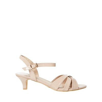 Dorothy Perkins - Wide fit nude swing sandals