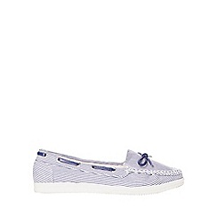 Dorothy Perkins - Wide fit striped loat loafers