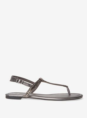 Dorothy Perkins - Tallic-silver flavour sandals