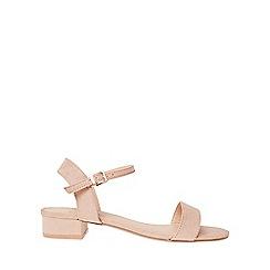 Dorothy Perkins - Wide fit nude spirit sandals