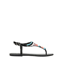 Dorothy Perkins - Wide fit multi coloured fever beaded sandals