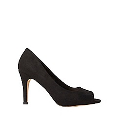 Dorothy Perkins - Wide fit black clover court shoes