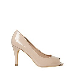 Dorothy Perkins - Wide fit nude clover court shoes