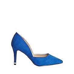 Dorothy Perkins - Wide fit cobalt eliza court shoes