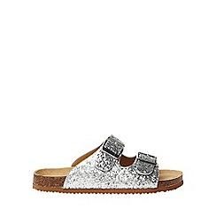 Dorothy Perkins - Wide fit silver fantasy sandals