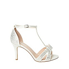 Dorothy Perkins - Wide fit ivory sofia occasion sandals
