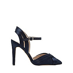 Dorothy Perkins - Wide fit navy sadie court shoes